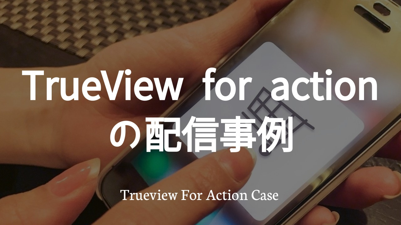 TrueView for actionの配信事例